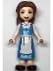 Minifig No: dp132  Name: Belle - Medium Blue Dress, Open Mouth Smile