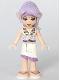 Minifig No: elf001  Name: Aira Windwhistler, White Skirt