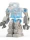Minifig No: exf010  Name: Devastator - Trans-Medium Blue Torso