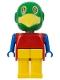 Minifig No: fab10c  Name: Fabuland Figure Parrot