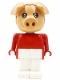 Minifig No: fab11d  Name: Fabuland Figure Pig 4