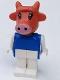 Minifig No: fab4a  Name: Fabuland Figure Cow