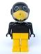 Minifig No: fab4e  Name: Fabuland Figure Crow 2