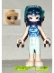 Minifig No: frnd313  Name: Friends Emma, Swimsuit with Flippers