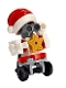 Minifig No: frnd340  Name: Friends Zobo the Robot, Santa