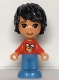 Minifig No: frnd470  Name: Friends Kevin - Micro Doll