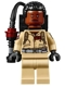 Minifig No: gb014  Name: Dr. Winston Zeddemore, Printed Arms - with Proton Pack