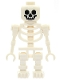 Minifig No: gen019  Name: Skeleton, Fantasy Era Torso with Standard Skull, Mechanical Arms Straight