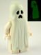 Minifig No: gen043  Name: Ghost with Pointed Top Shroud