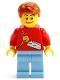 Minifig No: gen057  Name: LEGO Kladno 2013 Minifigure
