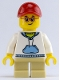 Minifig No: gen106  Name: Lego Store Customer with Tan Short Legs