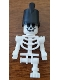 Minifig No: gen141  Name: Skeleton with One Leg and Imperial Guard Hat