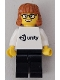 Minifig No: gen153  Name: Unity - Female Minifigure