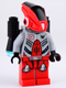 Minifig No: gs006  Name: Red Robot Sidekick with Jet Pack
