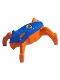 Minifig No: hf013  Name: Hero Factory Jumper 5 (Blue Top / Orange Base)