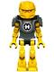 Minifig No: hf017  Name: Hero Factory Mini - Evo