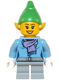 Minifig No: hol049  Name: Elf - Female Medium Blue Top