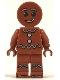 Minifig No: hol115  Name: Gingerbread Man - Dark Orange