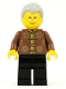 Minifig No: hol140  Name: Grandfather, Chinese New Year's Eve Dinner