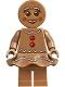 Minifig No: hol168  Name: Gingerbread Woman