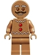 Minifig No: hol169  Name: Gingerbread Man - Moustache