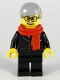 Minifig No: hol175  Name: Mayor, Lion Dance, Red Scarf, Black Suit