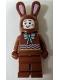 Minifig No: hol199  Name: Chocolate Bunny