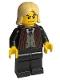 Minifig No: hp039  Name: Lucius Malfoy, Black Suit Torso, Black Legs