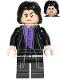 Minifig No: hp134  Name: Professor Severus Snape, Dark Purple Shirt, Black Robes