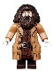 Minifig No: hp144  Name: Rubeus Hagrid, Medium Dark Flesh Topcoat with Buttons