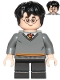 Minifig No: hp150  Name: Harry Potter, Gryffindor Sweater, Black Short Legs