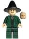 Minifig No: hp152  Name: Professor Minerva McGonagall (Dual Sided Head)