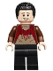 Minifig No: hp177  Name: Viktor Krum, Reddish Brown Jacket