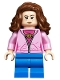 Minifig No: hp181  Name: Hermione Granger, Bright Pink Jacket