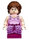 Minifig No: hp186  Name: Hermione Granger, Pink Dress