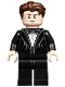 Minifig No: hp188  Name: Cedric Diggory, Black Suit and Bow Tie