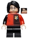 Minifig No: hp195  Name: Harry Potter, Tournament Uniform Paneled Shirt, Detailed