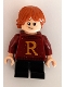 Minifig No: hp207  Name: Ron Weasley, Dark Red Sweater with Letter 'R'