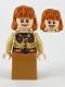 Minifig No: hp212  Name: Molly Weasley, Medium Nougat Skirt