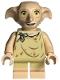 Minifig No: hp224  Name: Dobby (Elf), Light Nougat, Open Mouth Smile