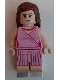 Minifig No: hp225  Name: Hermione Granger, Pink Dress, Legs