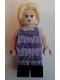 Minifig No: hp227  Name: Luna Lovegood, Lavender Dress
