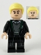 Minifig No: hp229  Name: Draco Malfoy, Slytherin Sweater and Black Robe