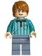 Minifig No: hp231  Name: Ron Weasley, Dark Turquoise Polo Shirt (75969)