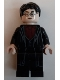 Minifig No: hp232  Name: Harry Potter, Dark Red Shirt and Tie, Black Robe