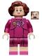 Minifig No: hp235  Name: Professor Dolores Umbridge, Magenta Dress