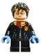 Minifig No: hp237  Name: Harry Potter, Black Torso Gryffindor Robe, Black Short Legs