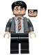 Minifig No: hp238  Name: Harry Potter, Gryffindor Cardigan Sweater