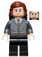 Minifig No: hp240  Name: Hermione Granger, Gryffindor Cardigan Sweater