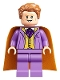 Minifig No: hp243  Name: Gilderoy Lockhart, Medium Lavender Torso and Legs